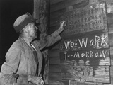 A Coal Loader Putting Up His Check at the End of Day's Work on Friday  Sept 13  1946