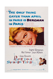 Paris Does Strange Things  (Aka Elena and Her Men)  Ingrid Bergman  1956