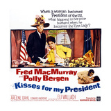 Kisses for My President  from Left: Fred Macmurray  Polly Bergen  1964
