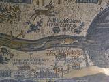Madaba Mosaic Map  Detail of River Jordan  542-570