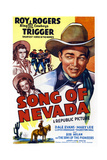 Song of Nevada  Left from Top: Dale Evans  Mary Lee  Right: Roy Rogers  1944
