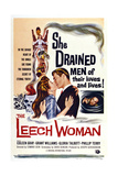 The Leech Woman  from Left: Coleen Gray  Grant Williams  1960