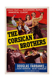The Corsican Brothers  from Left: Akim Tamiroff  Ruth Warrick  Douglas Fairbanks  Jr  1941