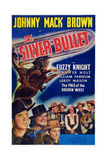 The Silver Bullet  First  Second  Third Left: Johnny Mack Brown  Jennier Holt  Fuzzy Knight  1942
