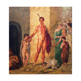 Theseus the Liberator of Chete from the Minotaur  C 45-79