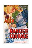 Ranger Courage  Top Left: Bob Allen  1937
