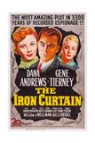 The Iron Curtain  Gene Tierney  Dana Andrews  June Havoc  1948