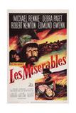 Les Miserables  Michael Rennie  (Beard)  1952