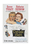 Desk Set  from Left: Spencer Tracy  Katharine Hepburn  1957