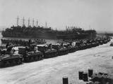 Two Days before the Allied Invasion of Sicily  Tanks Board Landing Craft