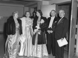 Presidential Party Arrives at the Truman-Barkley Dinner at the Mayflower Hotel  Jan 18  1948