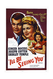 I'll Be Seeing You  from Left: Joseph Cotten  Ginger Rogers  Shirley Temple  1944