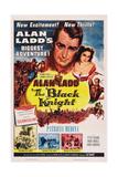 The Black Knight  Top: Alan Ladd  Patricia Medina  1954