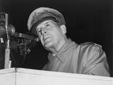 General Douglas Macarthur Addressing an Audience of 50 000 at Soldier's Field