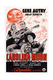 Carolina Moon  from Left: June Storey  Gene Autry  Smiley Burnette  1940