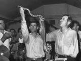 Men Handling Serpents at the Pentecostal Church of God