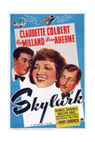 Skylark  from Left  Ray Milland  Claudette Colbert  Brian Aherne  1941