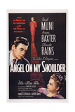 Angel on My Shoulder  from Left: Paul Muni  Claude Rains  Anne Baxter  1946