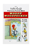 Woody Woodpecker  Chilly Willy (Bottom Left)  Ca Mid 1950s