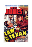Law of the Texan  Front Right: Buck Jones; Back Right: Dorothy Fay  1938
