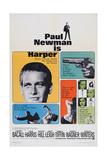 Harper  Paul Newman  Lauren Bacall  Janet Leigh  1966