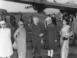 President Harry Truman Welcomes the Prime Minister of India  Jawaharlal Nehru