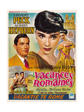 Roman Holiday  from Left  Gregory Peck  Audrey Hepburn  1953