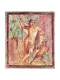 Ancient Roman Fresco  C  Casa Di Meleagro  Peristilium