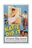 Katie Did It  Top Left: Cecil Kellaway  Bottom Right: Mark Stevens  Ann Blyth  1951