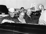 Prime Minister Jawaharlal Nehru of India and President Harry Truman in Open Car