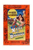 The Veils of Bagdad  from Left: Victor Mature  Mari Blanchard  Virginia Field (Rear)  1953