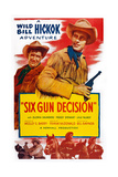 Six Gun Decision  from Left: Andy Devine  Guy Madison  1953