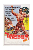 Tarzan the Magnificent  from Back Left: Betta St John  Gordon Scott  1960