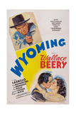 Wyoming  Top: Wallace Beery; Bottom from Left: Leo Carrillo  Ann Rutherford  1940