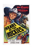 Heart of the Rockies  Roy Rogers  Trigger  1951