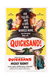 Quicksand  Top from Left: Barbara Bates  Mickey Rooney  Jeanne Cagney  1950