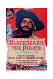 Blackbeard the Pirate  Top: Robert Newton; Bottom Left: William Bendix  1952