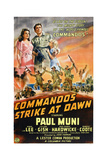 Commandos Strike at Dawn  Top from Left: Anna Lee  Paul Muni  1942