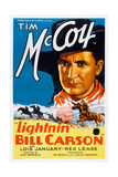 Lightnin' Bill Carson Art: Tim Mccoy  1936