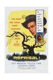 Reprisal!  Insert  from Left: Guy Madison  Felicia Farr  1956