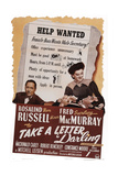 Take a Letter  Darling  from Left: Robert Benchley  Fred Macmurray  Rosalind Russell  1942