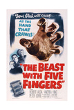 The Beast with Five Fingers  L-R: Peter Lorre  Robert Alda  Andrea King  1946