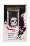 Girl in Room 13  Top from Left: Elizabeth Howard  Andrea Bayard  Brian Donlevy  1960