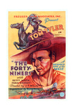The Forty-Niners  Tom Tyler  1932