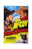 The Fighting Renegade  from Left: Ben Corbett  Tim Mccoy  1939