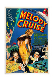 Melody Cruise  from Left: Charles Ruggles  Helen Mack  Phil Harris  1933