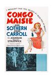 Congo Maisie  Bottom from Left  John Carroll  Ann Sothern  1940