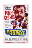 Mr Topaze  Top: Peter Sellers  Bottom Left: Nadia Gray  1961