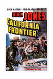 California Frontier  Left: Buck Jones  1938