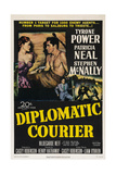 Diplomatic Courier  Patricia Neal  Tyrone Power  1952
